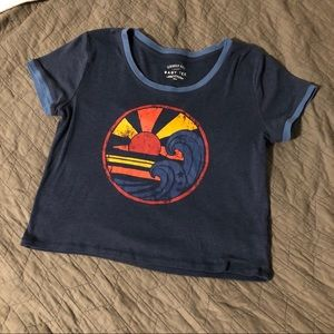 Baby tee Graphic crop top